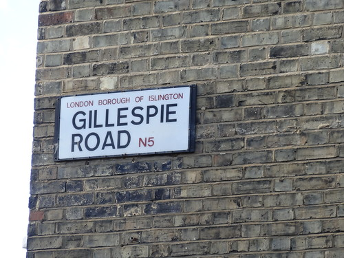 Gillespie Road Sign