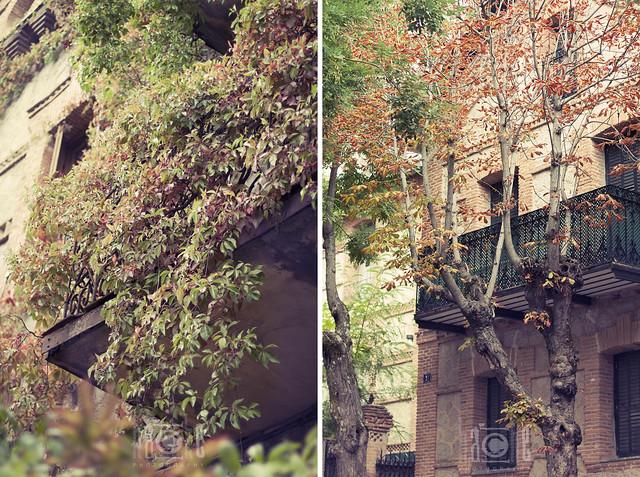 El Escorial en otoño