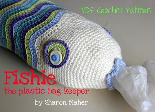 Fishie the Plastic Bag Keeper