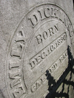 Emily Dickinson Tomb