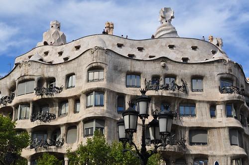 Casa Mila\Barcelona