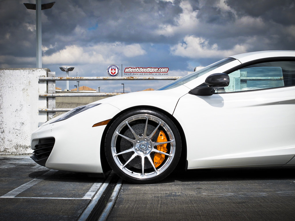 mclaren mp4-12c on full polished hre p44sc forged wheels | flickr