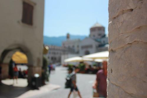 Plaza en Trento