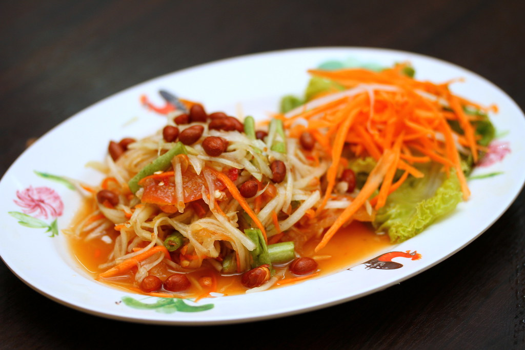 Thai Gold Food: Papaya Salad