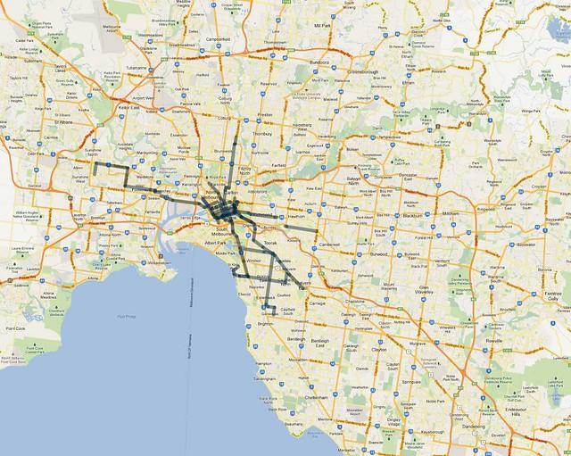 频繁的路线(15分钟)-evening-2012