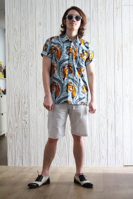 African Pattern Shirt