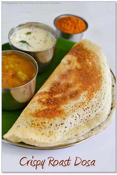 Paper Roast Dosa Recipe