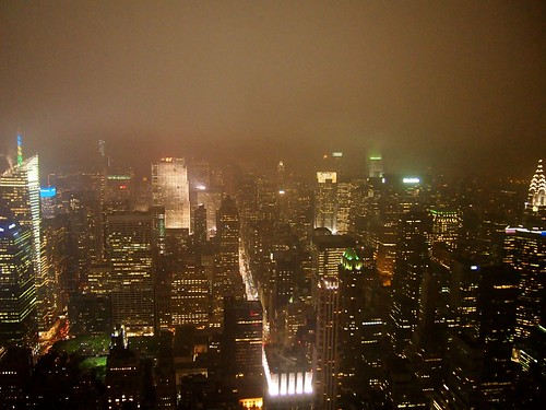 Midtown Manhattan in the Fog