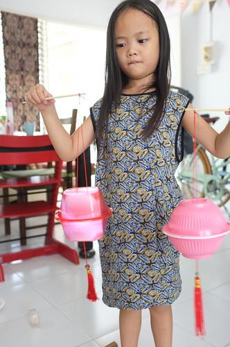 DIY lantern for mid-autumn festival