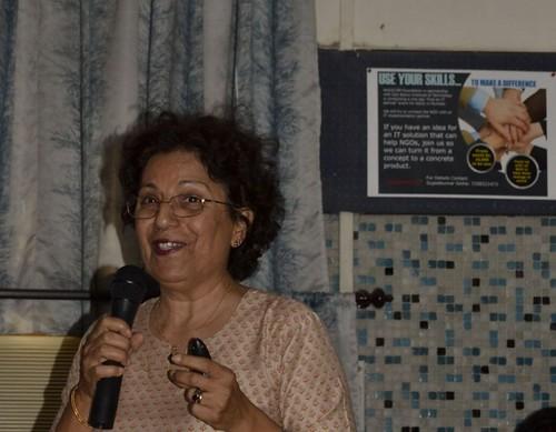 Ms. Zarine Gupta of Salaam Baalak Trust Mumbai