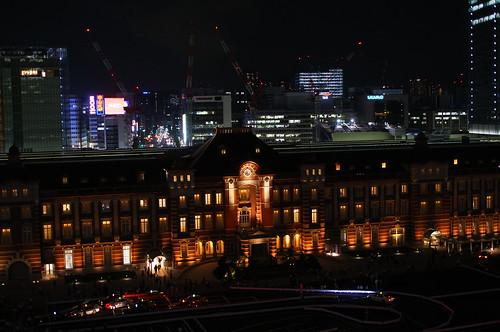 Tokyo Station Building center site