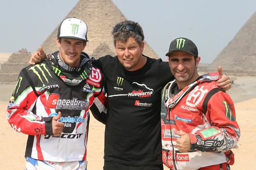 Barreda, Goncalves, Fischer Pharaons Rally 2012