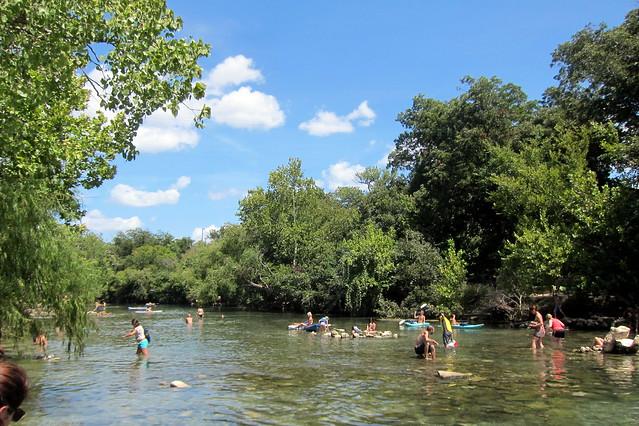 Austin zilker metropolitan park lower barton creek for Barton creek nursery