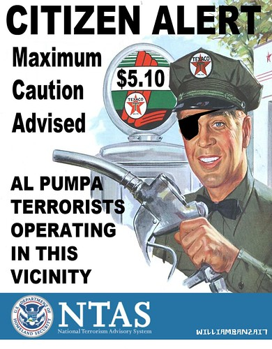 AL PUMPA WARNING by Colonel Flick