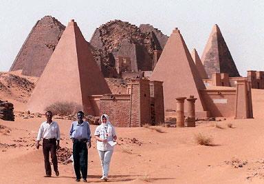 Pyramids in Sudan were built thousands of years ago. These monuments have survived numerous civilizations and political states. by Pan-African News Wire File Photos