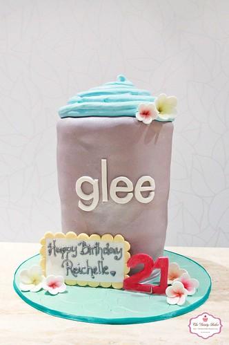 Glee Slushie cake-1