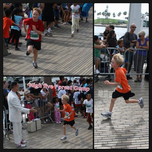 Long Beach kids race #InstaFrame