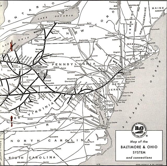 B-O 1960 Map