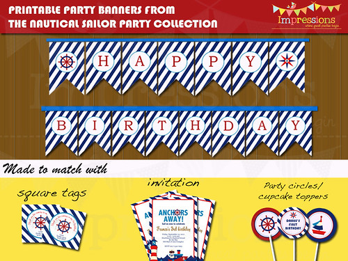 party banner ad