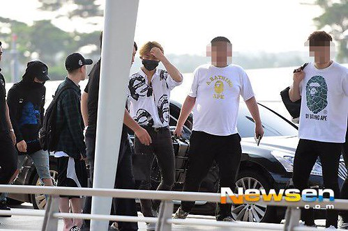 Big Bang - Incheon Airport - 07aug2015 - Newsen - 01