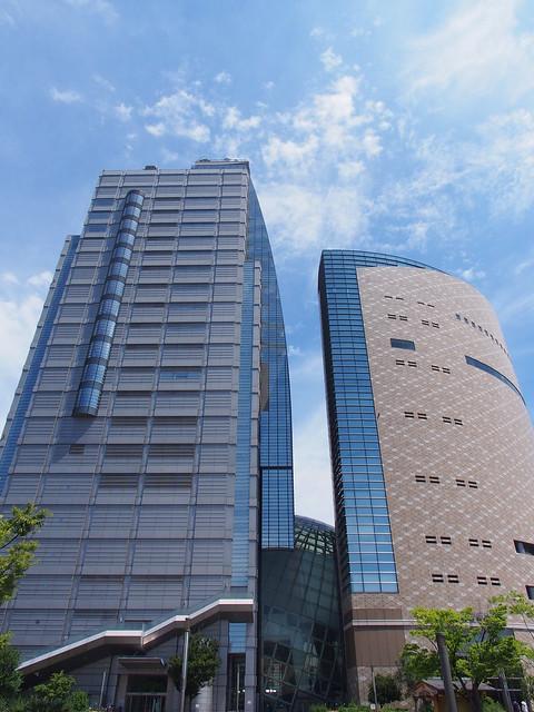 大阪歷史博物館與NHK大樓