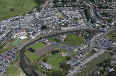 Bude aerial image