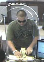 Suspect in Chase Bank Robbery