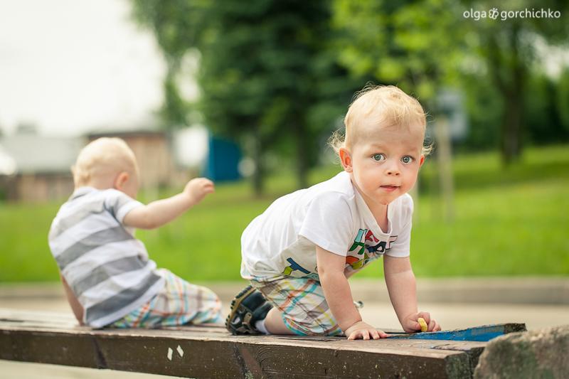 Летняя фотосессия двойняшек Кристиана и Даниэля