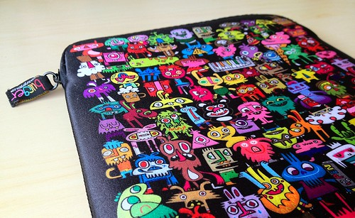 Jon Burgerman iPad case