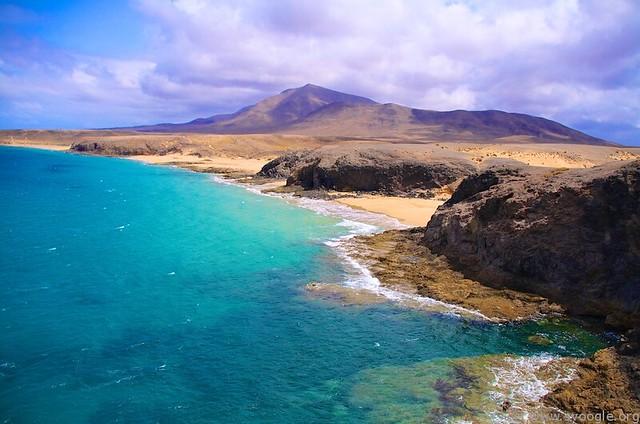 Lanzarote, Playa de Papagayo - Flickr CC svoogle