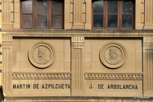 Martín de Azpilcueta y Joaquín de Arbolancha
