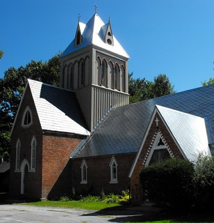 St James the Apostle Anglican Church in Stanbridge East, Qc, Canada
