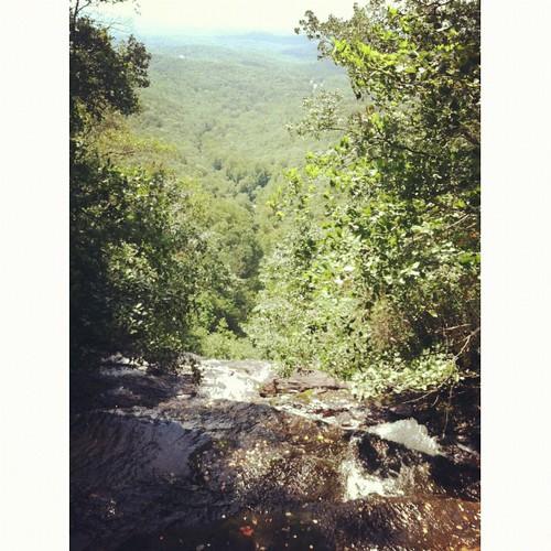 Top of the falls #hickscabintrip12