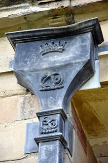 Wrought iron gutters