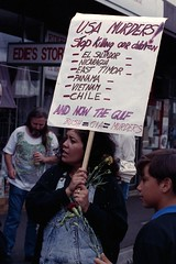 1991 Stop the Gulf War demo 6.jpg
