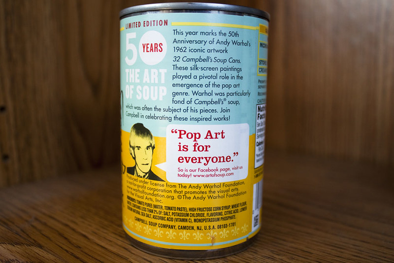 Campbells Soup - Andy Warhol - Green & Yellow