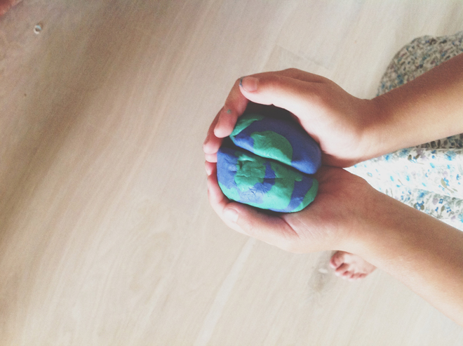 the whole world in her hands