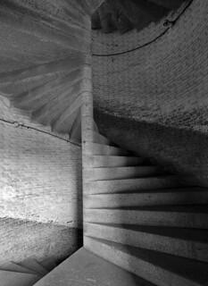 Winding steps