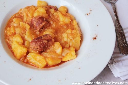 Patatas guisadas con chorizo (10)