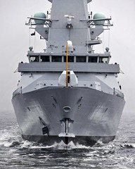 New Type 45 Destroyer HMS Duncan Begins her Sea Trials