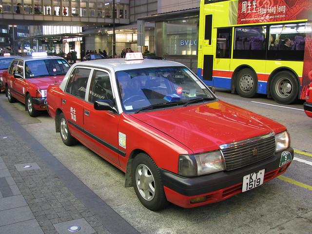 HK taxi: main island