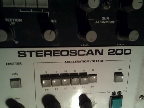 Cambridge Stereoscan 200
