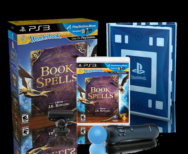 Wonderbook: Book of Spells Move Bundle