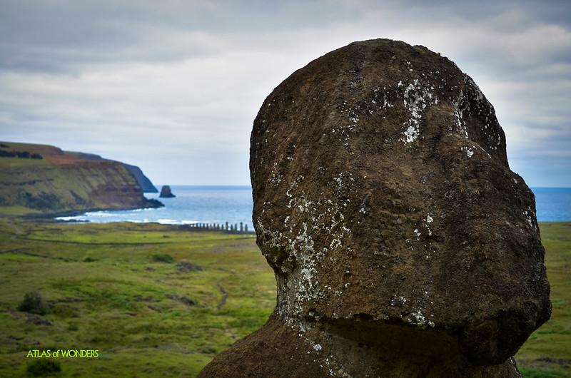 Sitting Moai Tukuturi