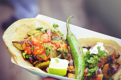 Tacos! ~ Chef Wesley Avila, Pop-Up Taco Stand at Handsome Coffee Roasters, Downtown Los Angeles