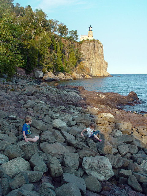 kiddos and split rock