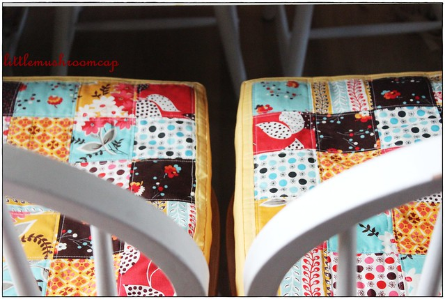 Cushion Cover -Dining Makeover