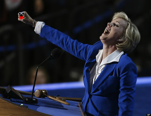 Jennifer Granholm Speaks at the Democratic National Convention