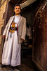 portrait of a man with his Jambiya (جنبية) in the old city Sana'a-Yemen-اليمن-صنعاء by anthony pappone photographer
