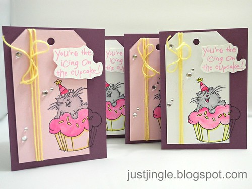 You're the Icing on the Cupcake Card Set